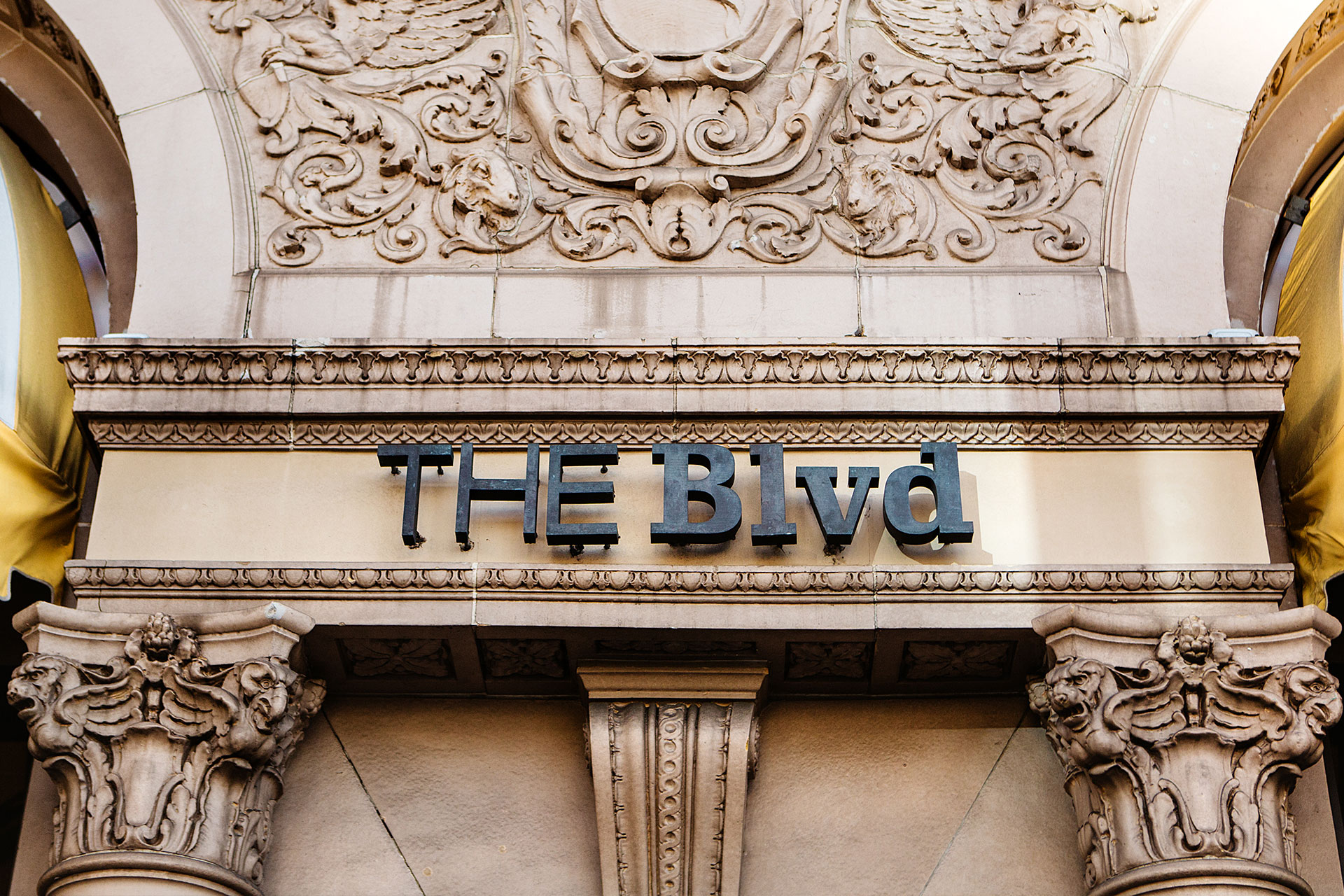 The Blvd A Restaurant And Lounge Located Inside Beverly
